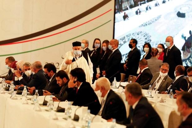 من ملتقى  الحوار السياسي الليبي في تونس (أرشيفية)