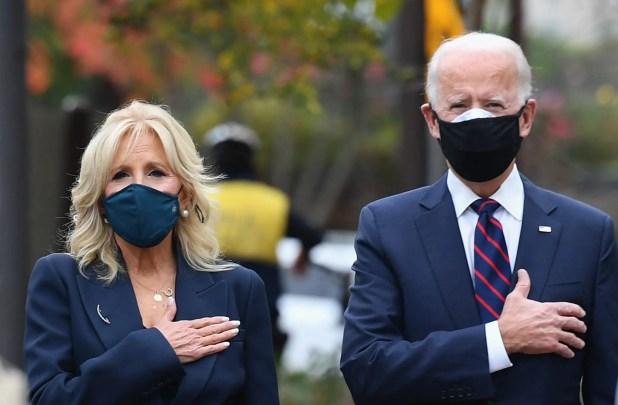 الرئيس الأميركي المنتخب جو بايدن وزوجته جيل