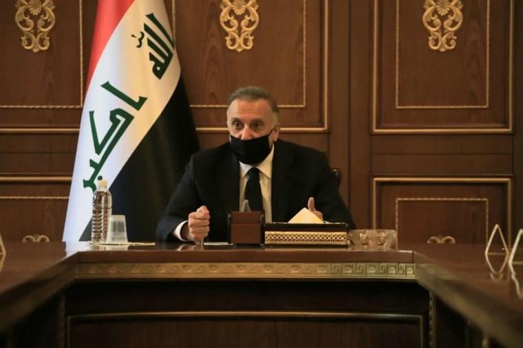 رئيس مجلس الوزراء العراقي مصطفى الكاظمي
