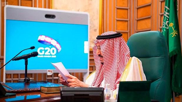 الملك سلمان يترأس اجتماع لمجموعة العشرين في مارس الماضي