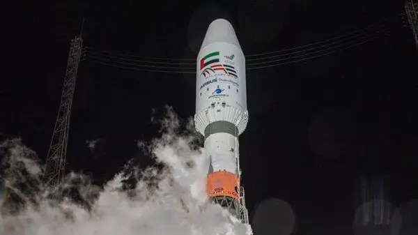UAE launches 'Falcon Eye' satellite into space to mark National Day