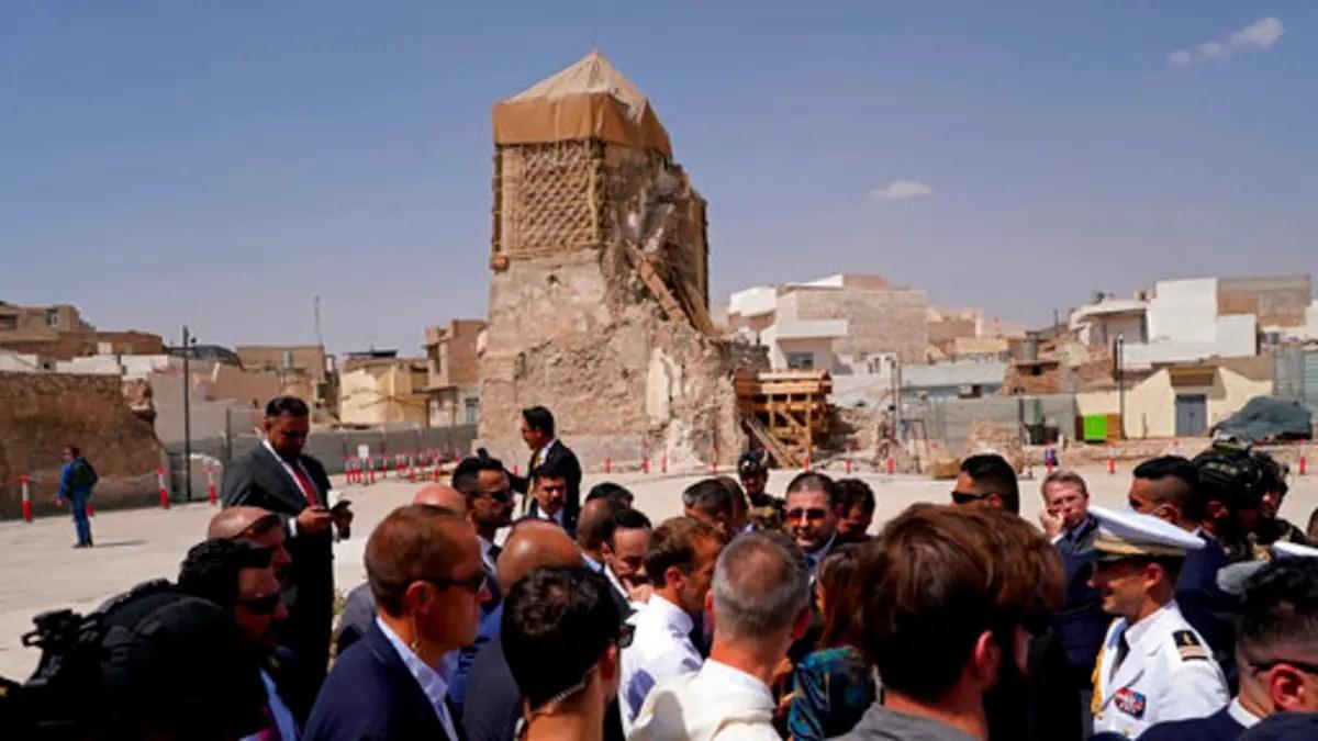 Symbol of rebirth at Iraq's historic al-Nuri mosque