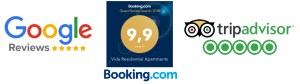 Vida Residential Apartments Ranking on Booking Engines