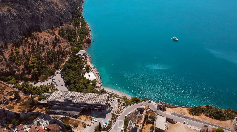 Nafplio Arvanitia beach