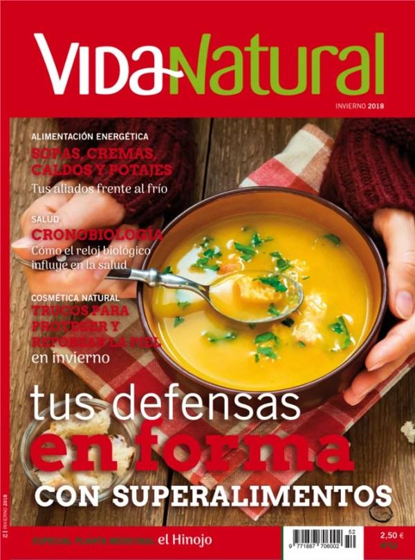 Revista Vida Natural nº 52 - Invierno de 2018