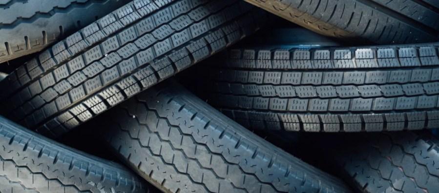 ¿Qué se hace con los neumáticos usados?