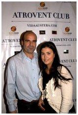 Guillermo Lopez con blogger girl