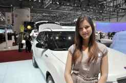 Ginebra girl Motor Show 2011