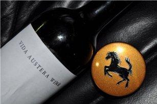 Vidaaustera wine Ferrari