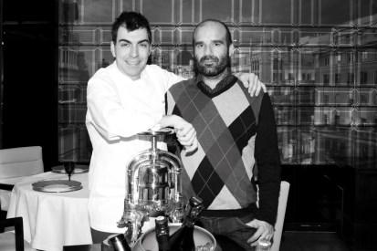 Ramon Freixa y Guillermo Lopez