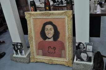 Cuadro de la coleccion privada de Vida Austera customizado por el artista