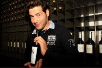 Juan García presenta su propio vino Jg