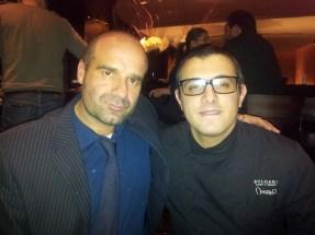 chef Andrea Ferrero & Guillermo Lopez en Hotel Bulgari