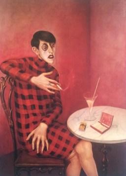 vidaaustera.com arte judia rojo mujer fumando