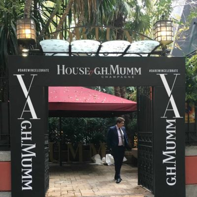House of G.H. Mumm MADRID 2017 FORTUNY