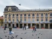 Das Bürgermeisteramt am Plaza Bolívar in Bogotá.