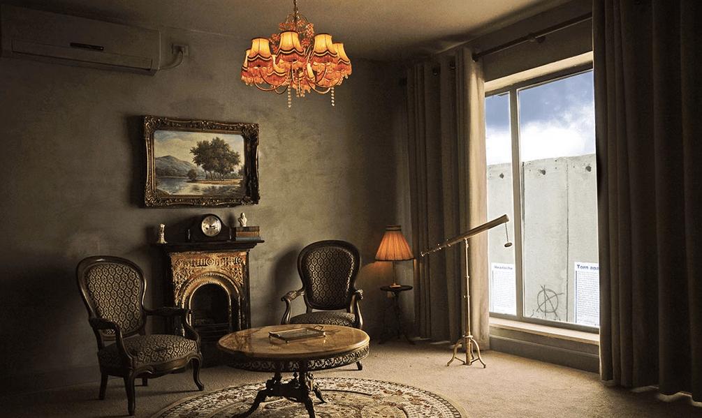 El hotel de Banksy: con la peor vista