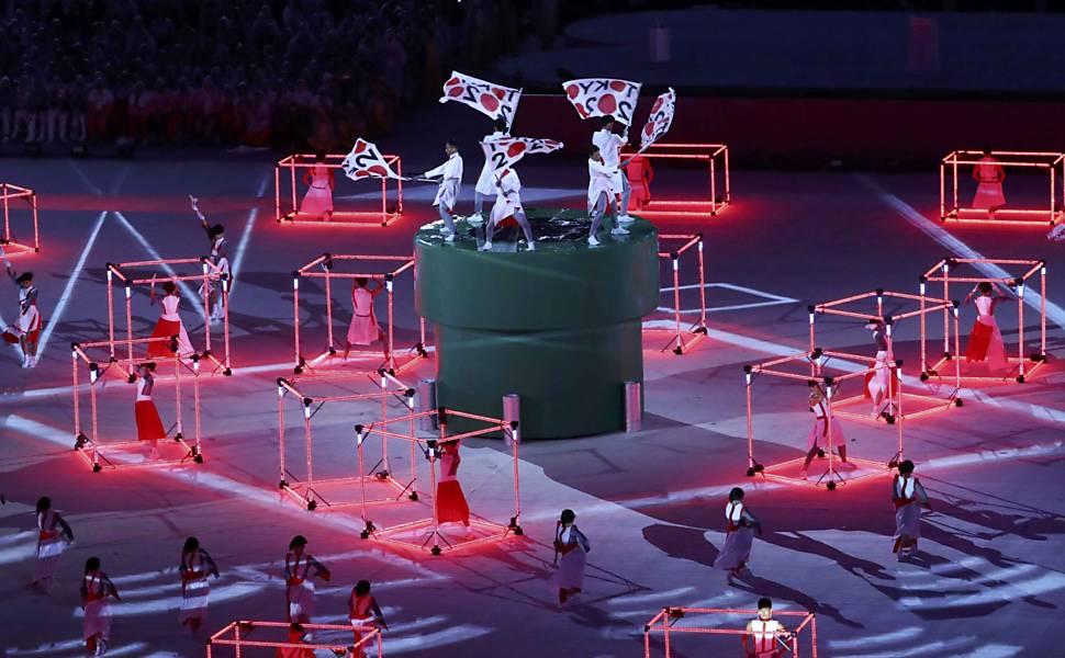 Encerramento da Olimpiada