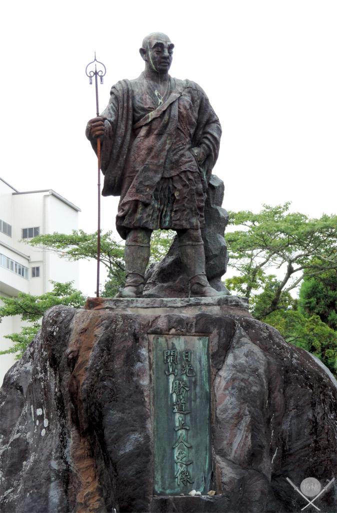 Nikko Estátua do monge Shodo Shonin