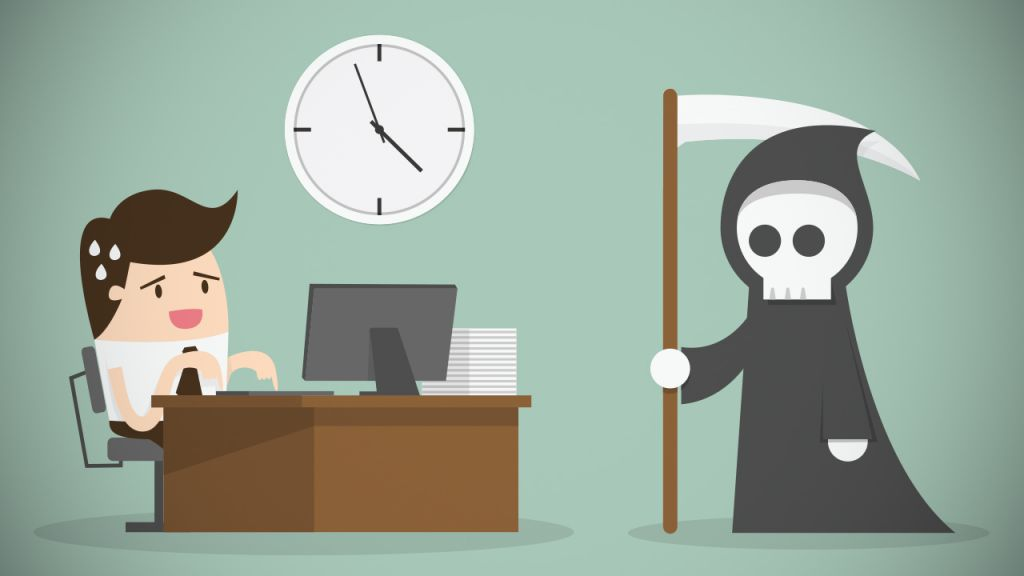 procrastinação 8 morte