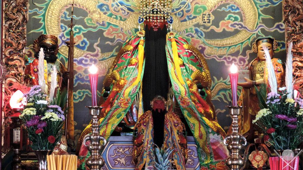 yokohama - chinatown templo