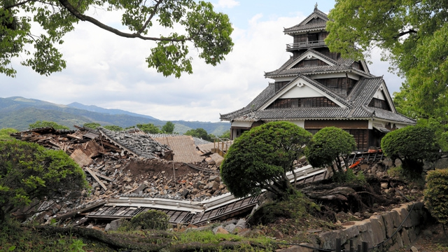 asahi kumamoto castle
