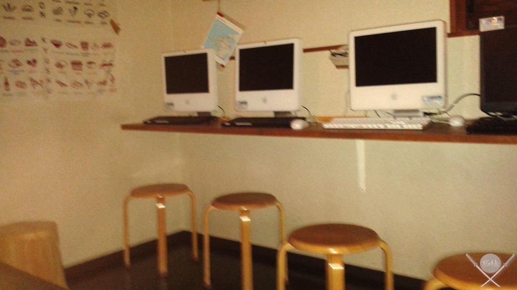kumamoto - akari hostel nagasaki computador