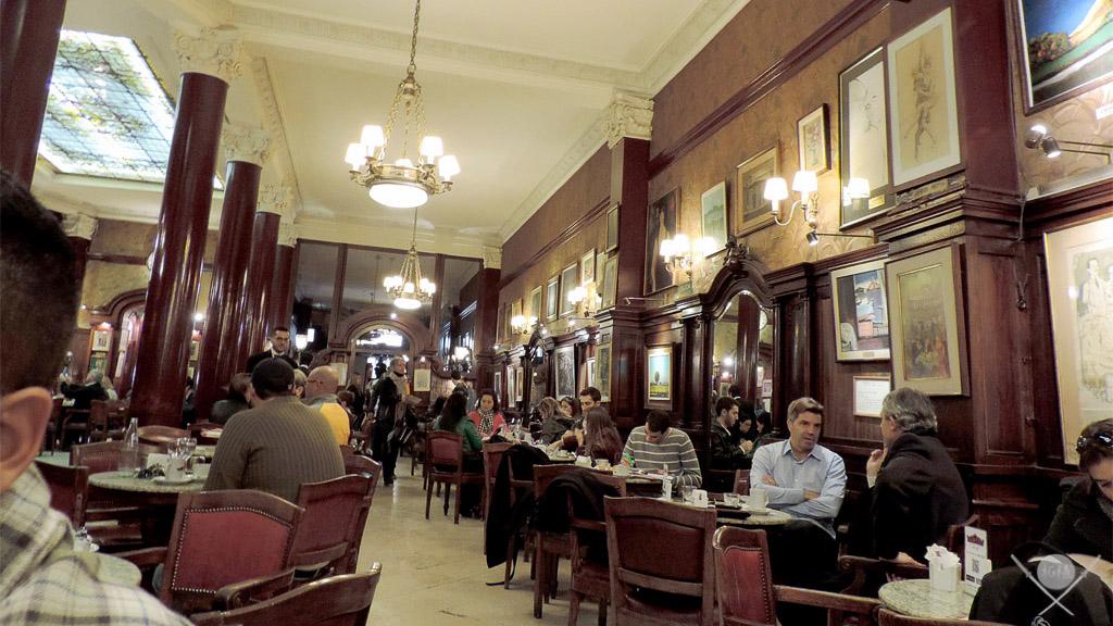 Buenos Aires - Café Tortoni salão