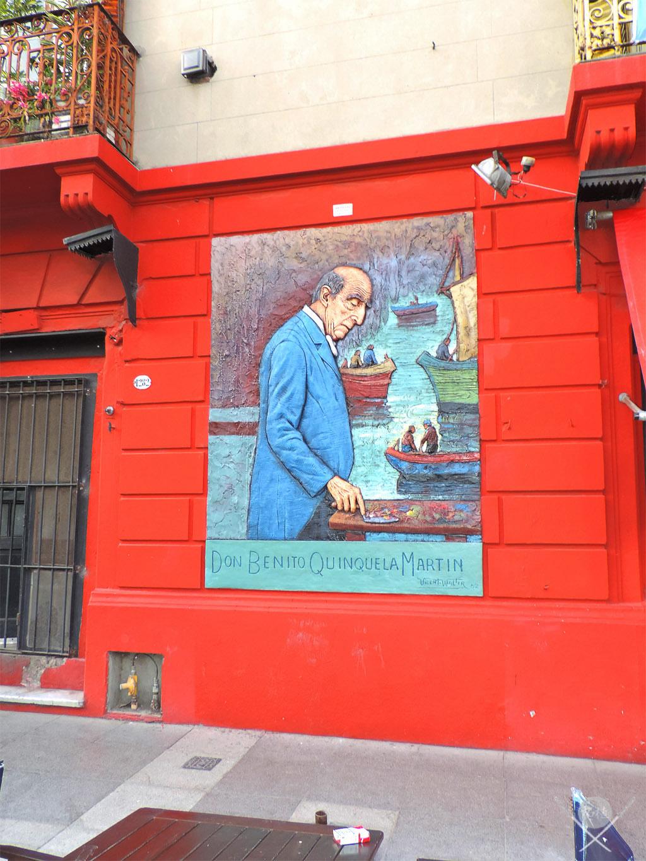 Buenos Aires - Calle caminito don benito