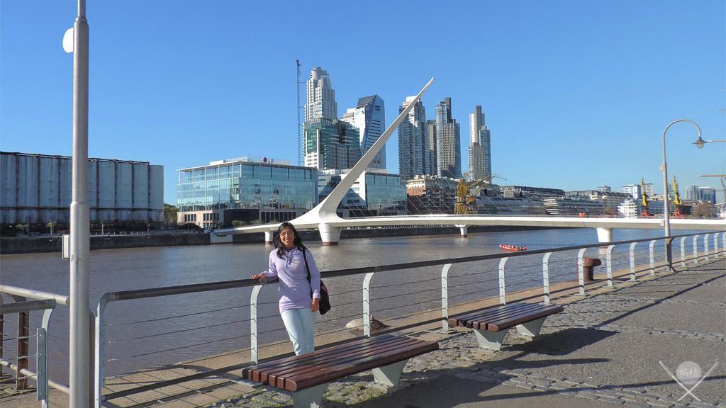 Buenos Aires - Puente de la mujer