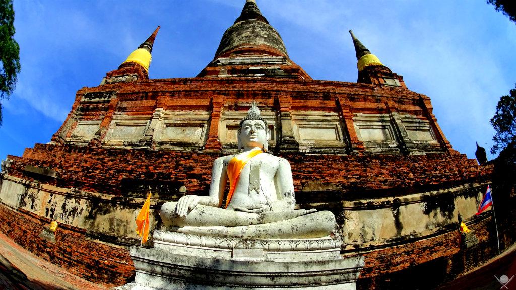 Thailand Ayutthaya Wat Yai Chaya Mongkol Vida de Tsuge VDT 1024x576