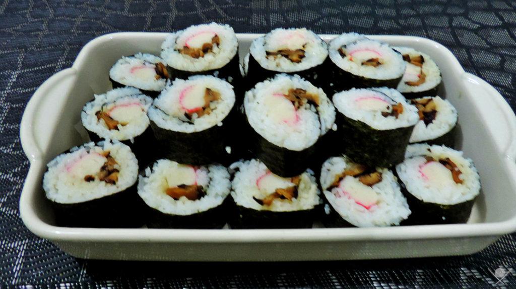 Arroz de Sushi - Sushi Boston 1 - Sabedoria Oriental - Vida de Tsuge - VDT