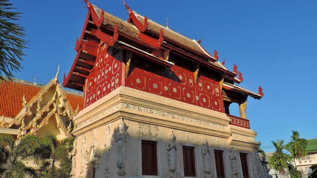 Thailand - Chiang Mai - Old Wat Vermelho - Viagens - Vida de Tsuge - VDT
