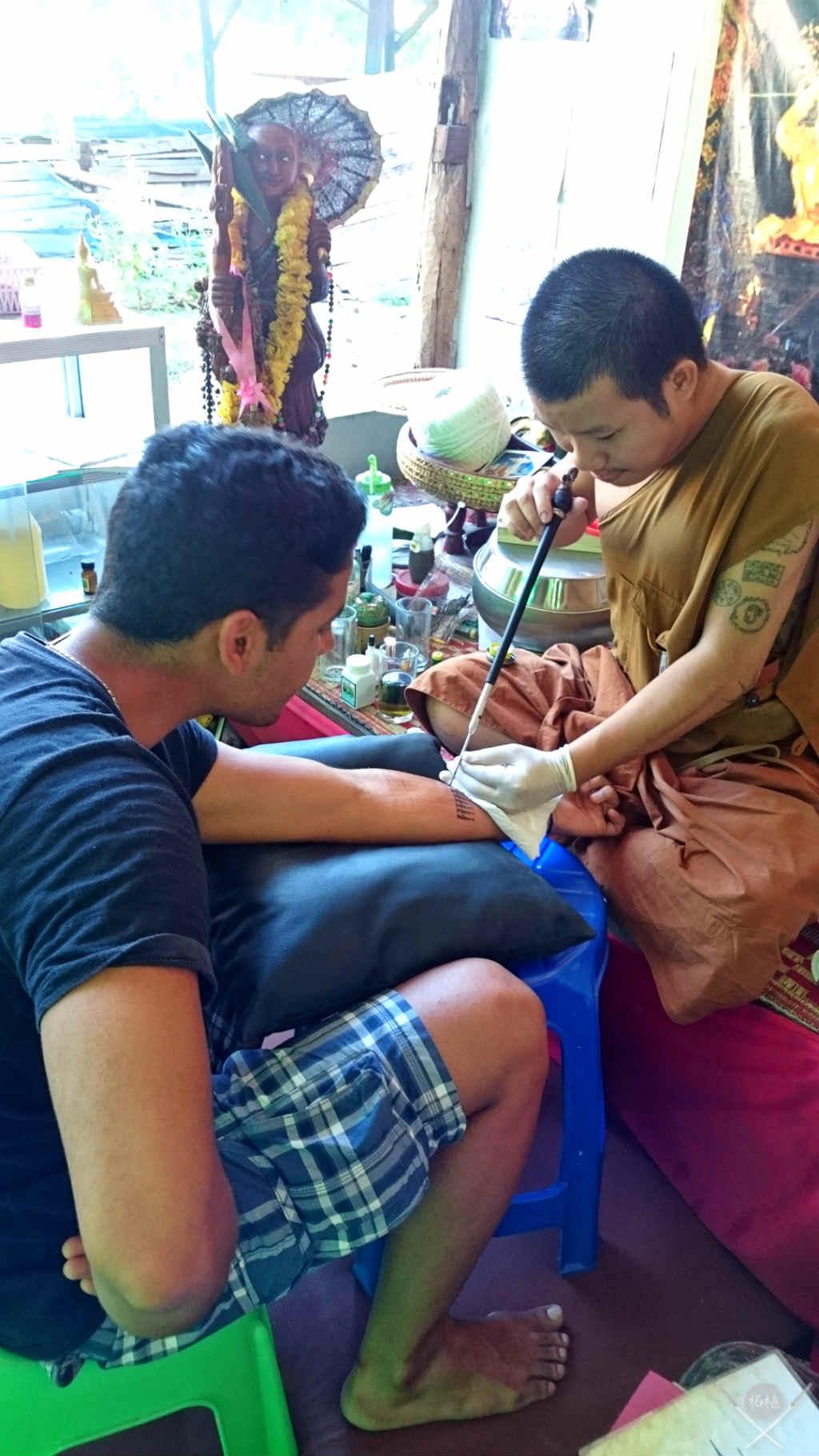 Thailand - Chiang Mai - Tattoo 2 - Viagens - Vida de Tsuge - VDT