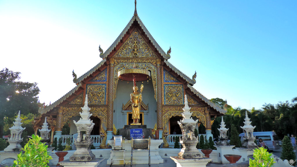 Thailand - Chiang Mai - Wat Phra Singh 2 - Viagens - Vida de Tsuge - VDT
