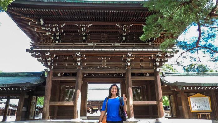 Meiji Jingu marina tsuge - Primavera no Japão - Vida de Tsuge