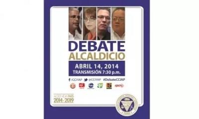 Debate por la Alcaldía CCIAP