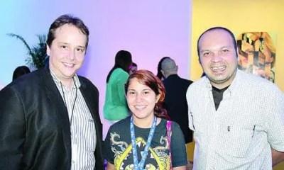 Lanzamiento Huawei Ascend P7 - Alex Neuman, Ana Osorio y Héctor Miranda