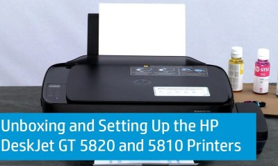 HP Deskjet GT 5820 Review Panama