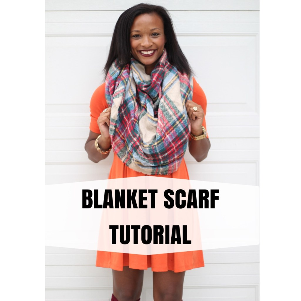 Blanket Scarf Tutorial