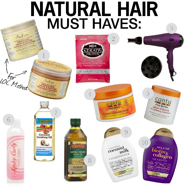Natural Hair Must Have Products Vida Fashionista
