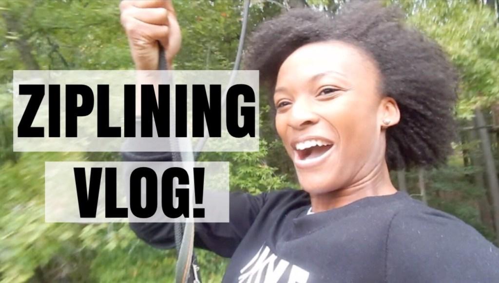 Zip Lining Vlog