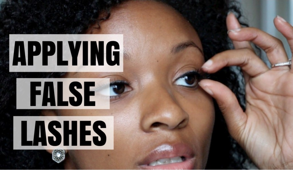 Video: How to Apply False Eyelashes & Create a Date Night Look