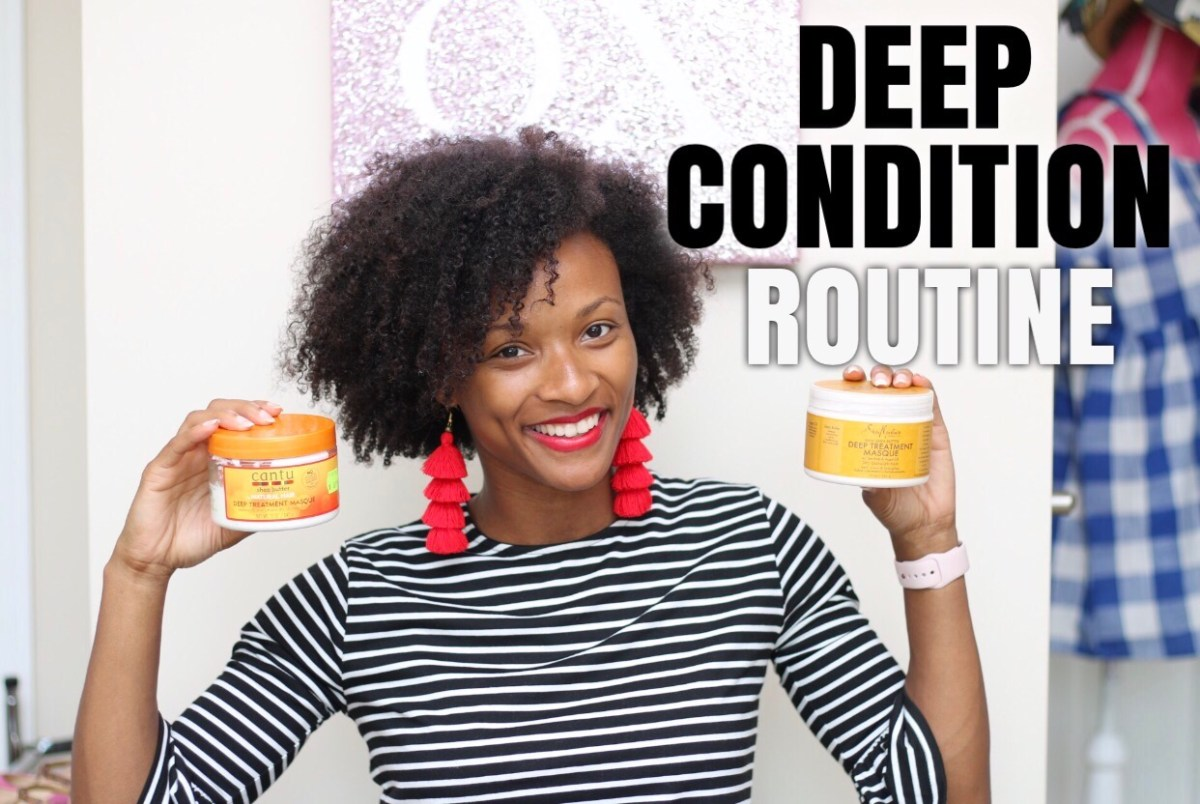 Video:  Deep Condition Routine
