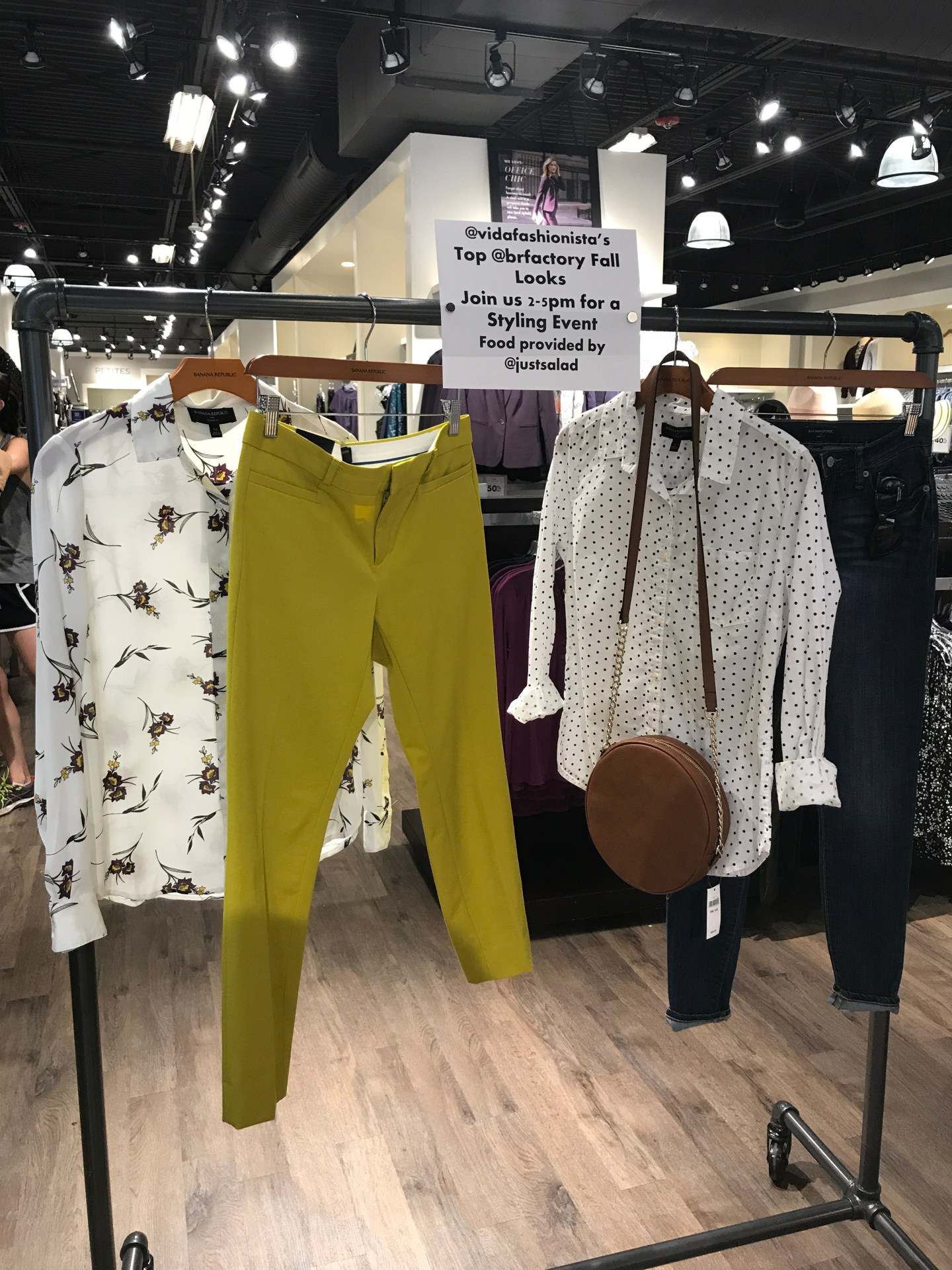 Banana Republic Factory Styling Event Recap