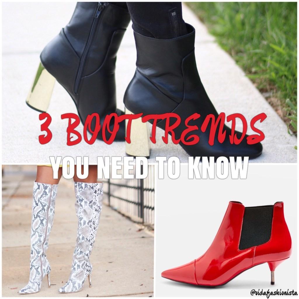 3 Boot Trends