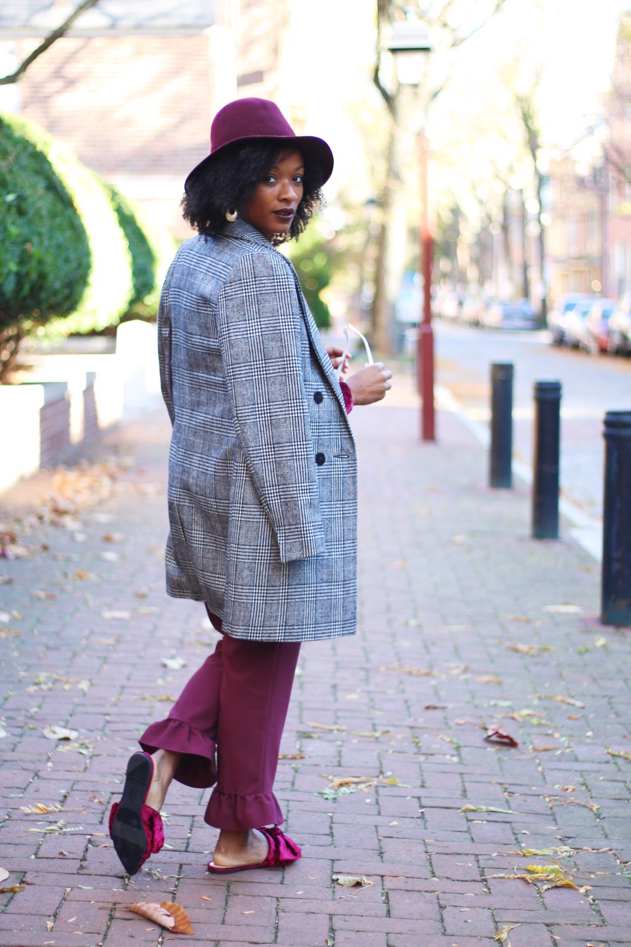 Bordeaux Head-to-Toe