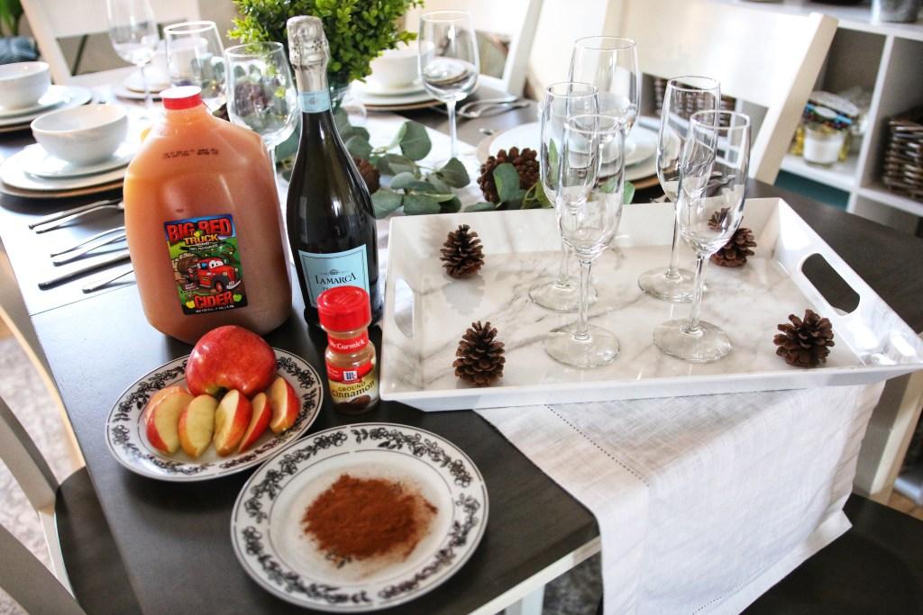 Apple Cider Mimosa Recipe