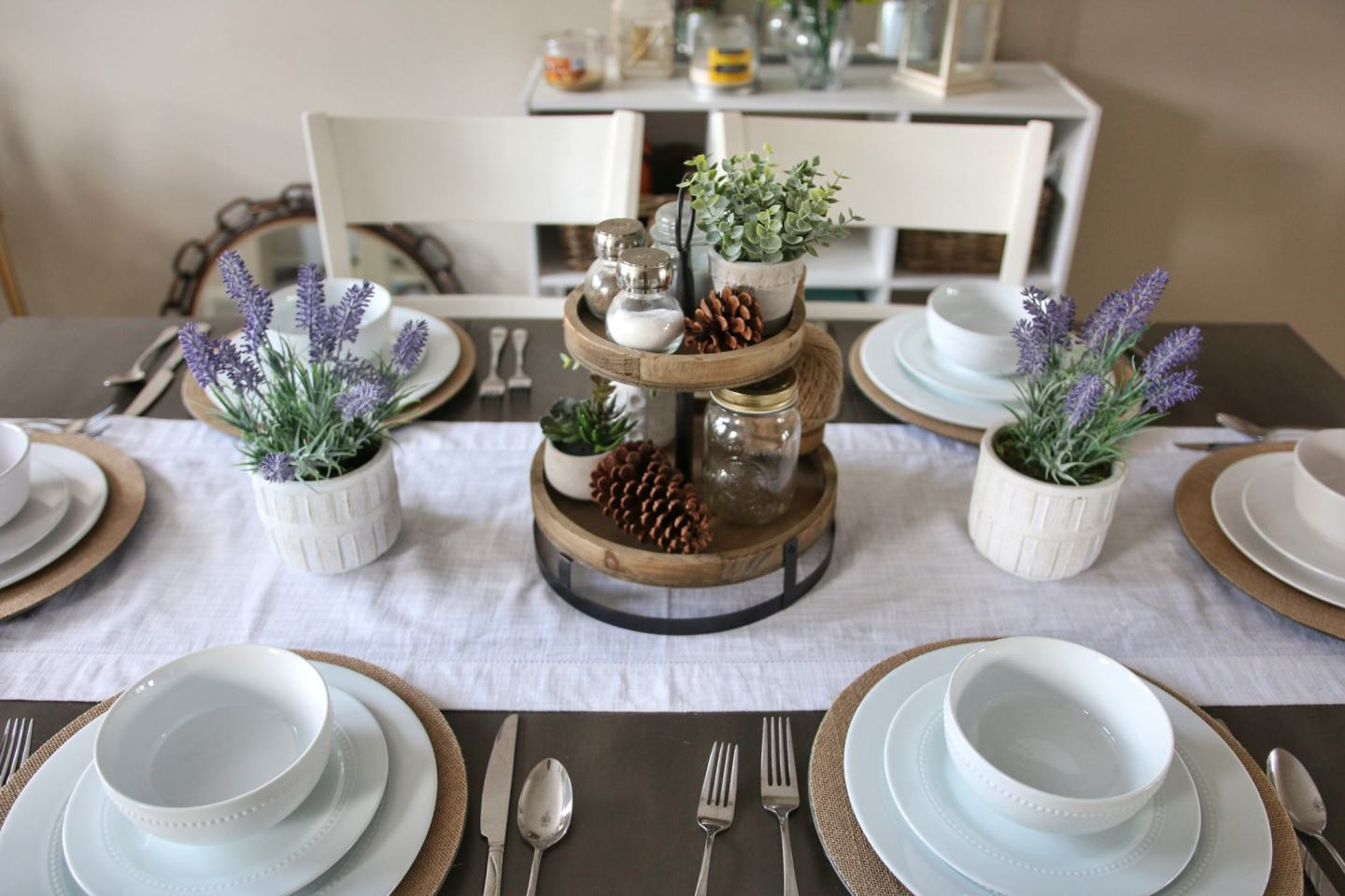 Dining Room Spring Refresh
