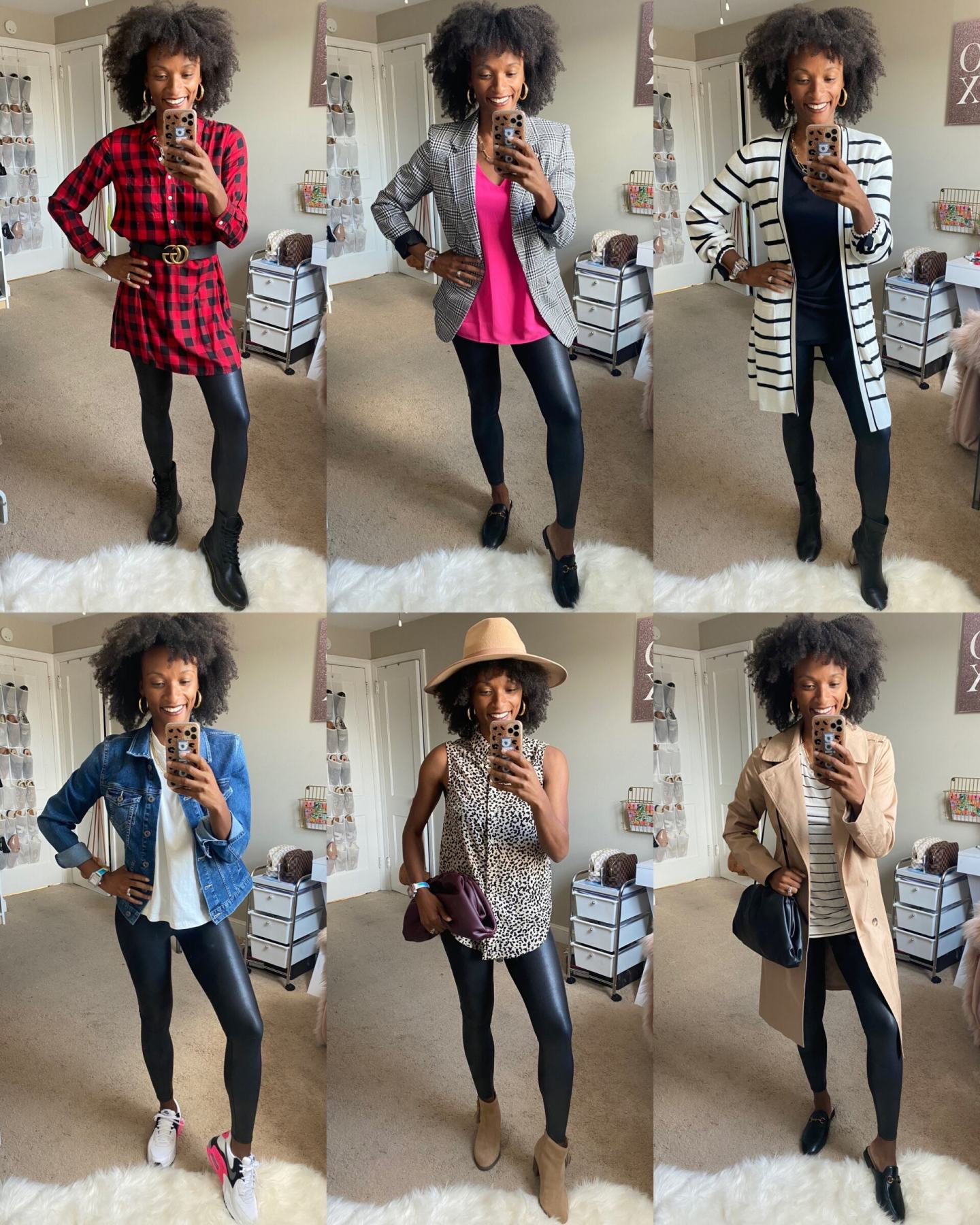 Styling Spanx Faux Leather Leggings 14 Ways